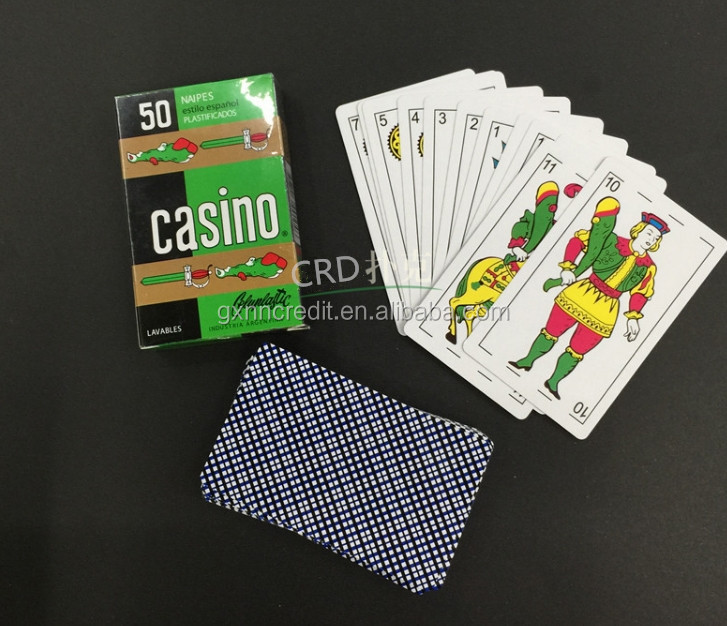 custom standard size club promotional playing cards
