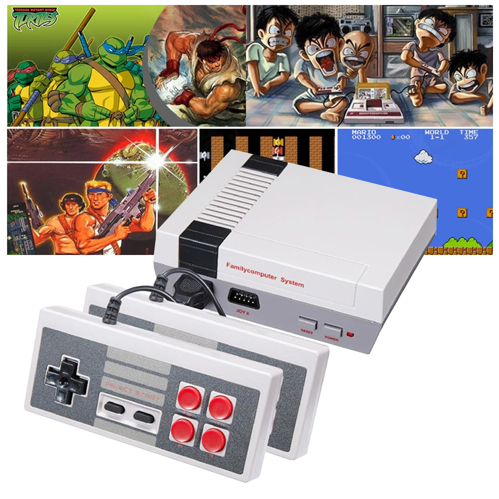 AV output 8 Bit Video Game Console Gamers Unite Gift Box