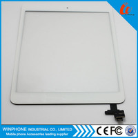Replacement touch screen digitizer for iPad mini with IC connector and adhesive