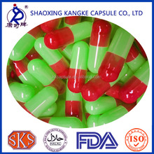 Separated/Joined empty gelatin enteric coated capsules