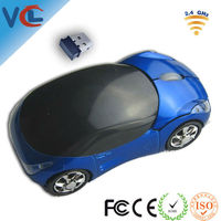 VMW-17 Shenzhen 11 years ISo factory 2.4g colorful optical computer race car mouse