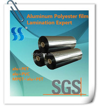 Hangzhou Colorful Polyester Metalized Film for Packing Insulation Ducting Manufacturing