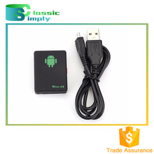 Mini A8 sos panic button GSM/GPRS/GPS tracking device portable GPS tracker