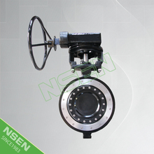 NSEN New Product! Triple Offset Wafer Metal Seated Butterfly Valve A216 WCB