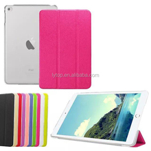 Luxury Ultra Slim Custer Magnetic Flip Cover Stand PU Leather Case for iPad Mini 4