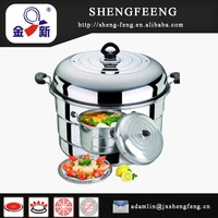 3-layer Bigger Size Stainless Steel Food Steamer