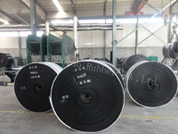 wear resistant low price rubber patterned conveyor belt
