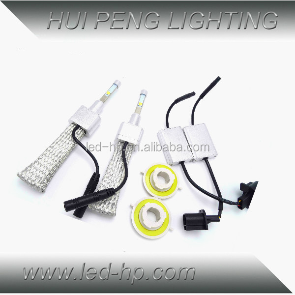 2015 New Design 12V H4 4800lm IP68 Headlight 40W Led H4
