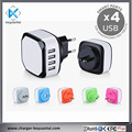 Four switch plugs charger 4 Port USB Universal Travel Charger