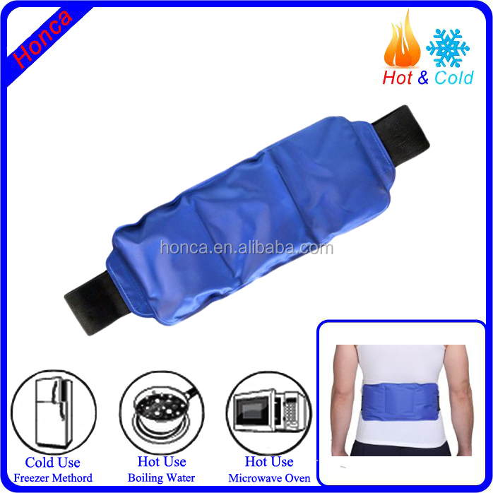 cold or hot flexible gel ice packs