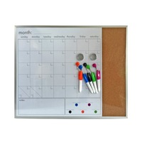 ustom white writing board aluminium/ cork frame ceramic/ magnetic home school office whiteboard