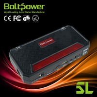 12000mah high rater electric power booster battery jump starter car jump starter with free tool bag