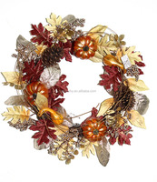 Promotional excellent quality harvest home decor wreath