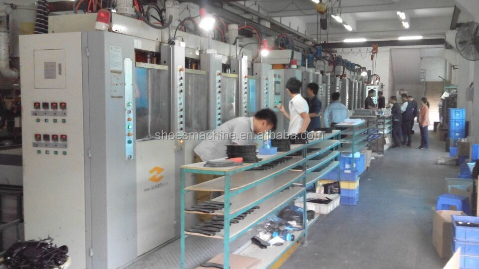 China Shoe Sole Vertical Injection Molding Machine Price