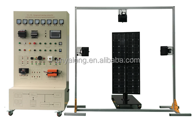 YL-198A Solar Photovoltaic Power Generation Training System (Sensor)/Didactic Training System/Technical Trainer/
