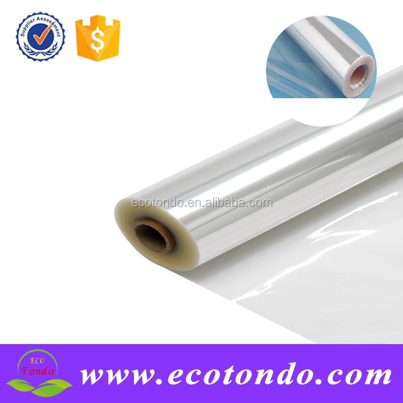 customized transparent white dot cellophane roll,cellophane supply