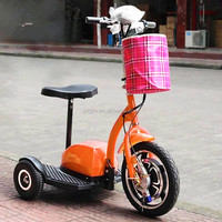 350W motor 3 wheels professional electric scooter for old people