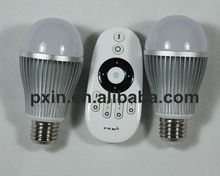 Cool white flexible touch screen rgb wifi bulb