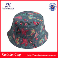 Digital printing bucket hats kente hat