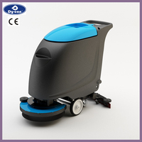 single brush battery powerd floor scrubber marble floor cleaning machine