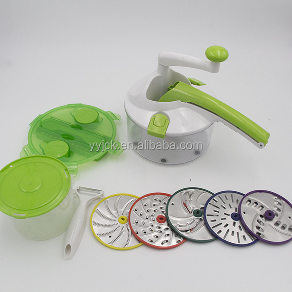 High Quality Hand multifunctional Roto vegetable and Fruit Slicer Champ As Seen On Tv