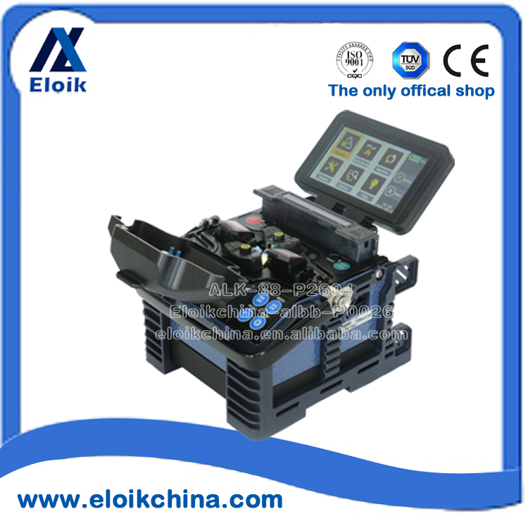 fusion splicer mini/ fiber welding touch screen machine/ Eloik ALK-88 best for FTTH project/ ISP tools/OTDR