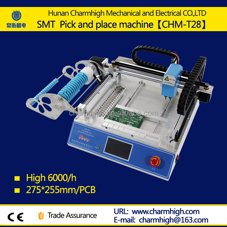 SMT mini pick and place machine TM240A Charmhigh factory directly supply for R&D