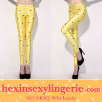 Wholesale hot female galaxy spandex leggings pics