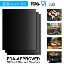 100% Food Grade fda approved fire retardant bbq grill mat