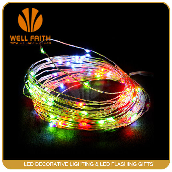 Wedding Decoration unique Submersible led christmas star string lights for party