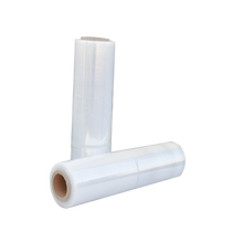 low price hand pallet stretch film polyethylene transparent clear cling film for packing