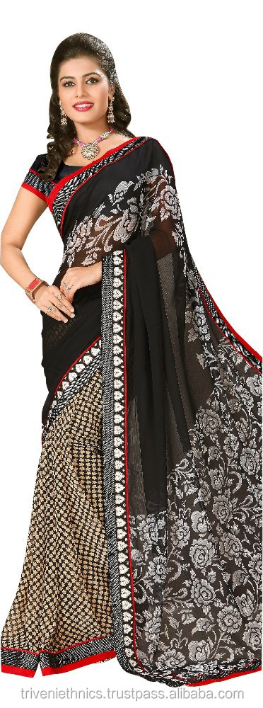 Triveni printed saree in surat