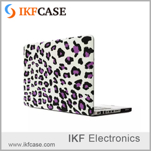 hot selling low price OEM matte case for macbook 15.4 Retain case leopard spot pattern high quality case for macbook 15.4Pro