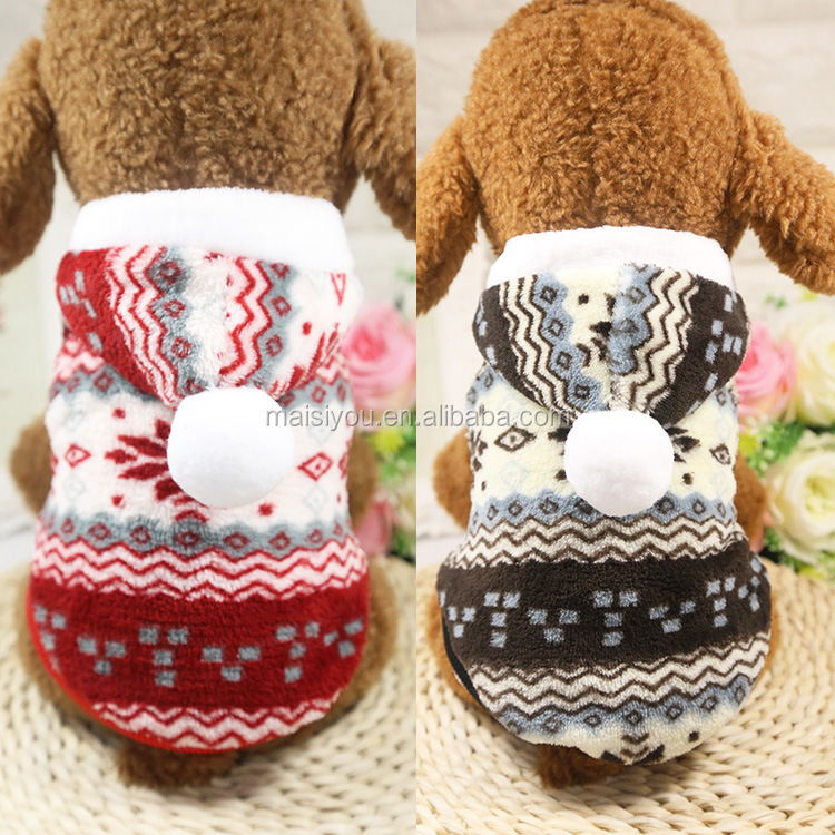 2017 new high quality xs-xxl sizes wool pet dog cat coats for large dogs pet sweater
