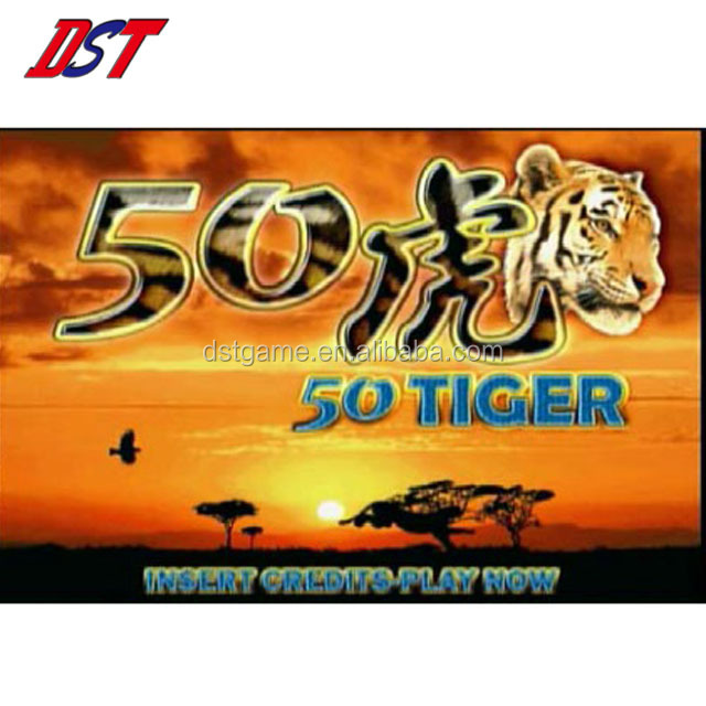 High quality DST- 50 Tiger arcade slot game board in sale