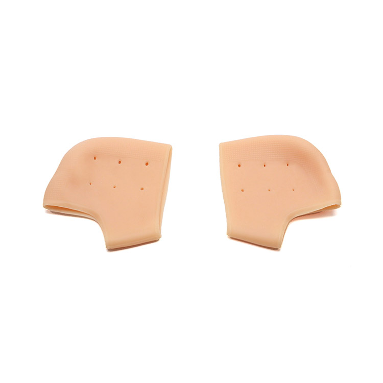 silicone moisturizing gel heel protectors for feet