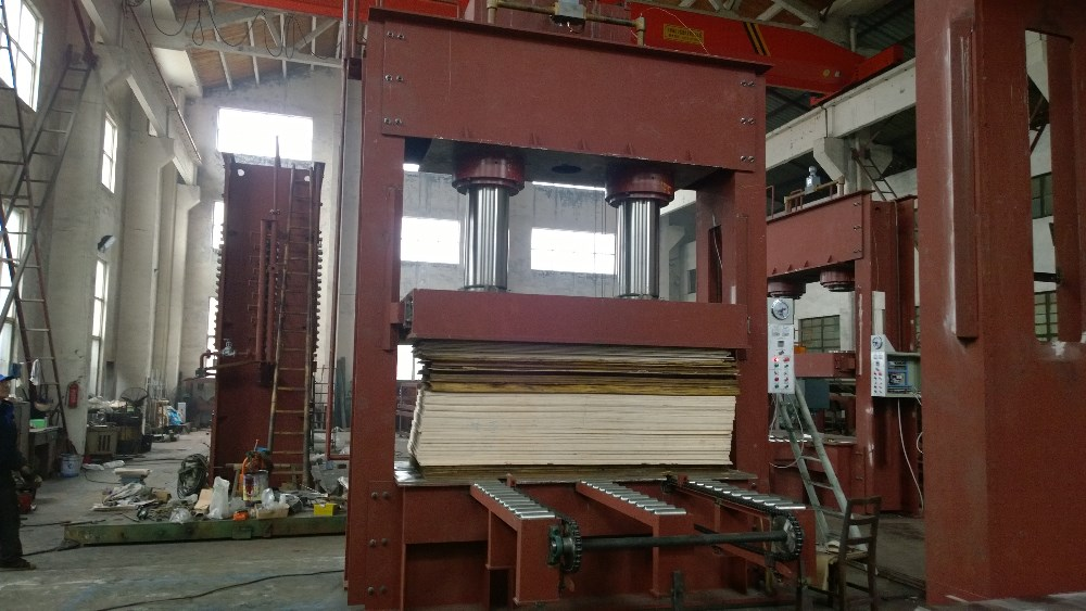 plywood machine pre press cold press