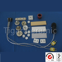 Excellent Insulation Electric Ceramic Insert Parts
