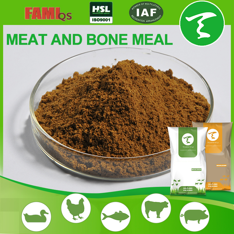 Factory Supply Feed Grade poultry meat bone meal