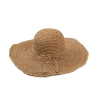 woven paper straw hat big brim RAFFIA straw hat