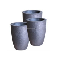 High pure graphite crucible for gold melting
