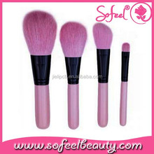 synthetic hair make-up brush kit for face makeup