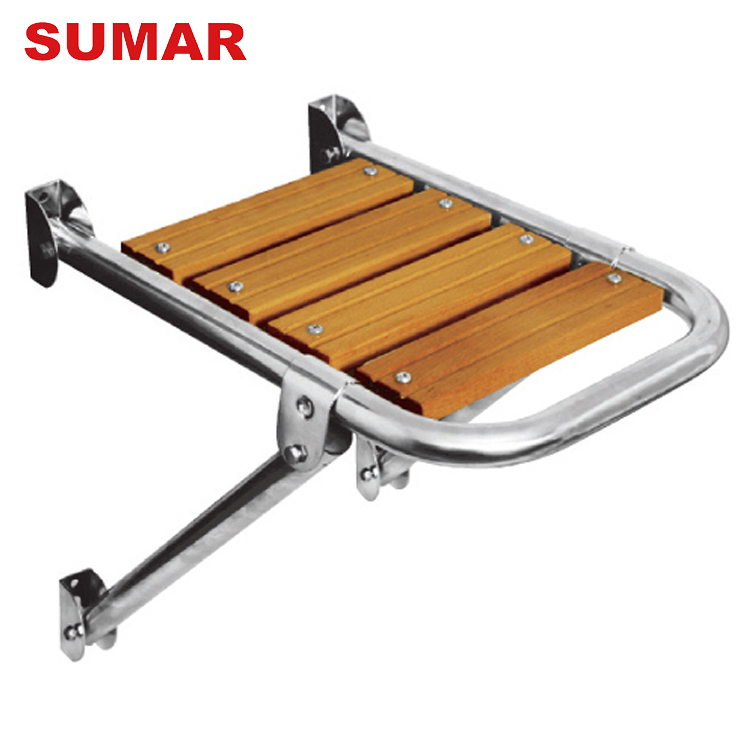 High quality wholesale marine diving wooden outboard boat swim platform