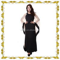 MF23562 New design butterfly Sleeves Black Abaya in Malaysia