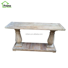 Lounge Furniture Reclaimed Wood Side Table Recycled Furniture