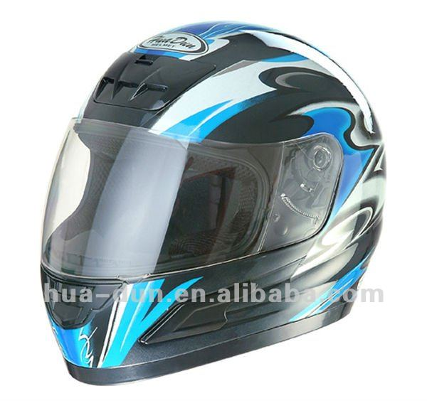 new and cool helmet sport motocycle helemt with dual pc visors for racing and outdoor sport full face helmet HD-03B(X)
