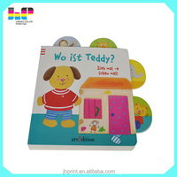 new design English Story Child board Book whole Hardcover Child board games printing