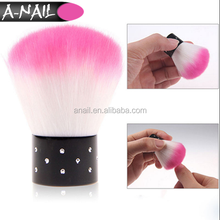 Colorful Useful Nail Art Dust Cleaner Acrylic UV Gel Nail Powder Remover Cleaning Cosmetic Make Up Brush