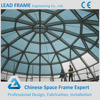 Dome Steel Building Tempered Glass Roof With Competitive Price