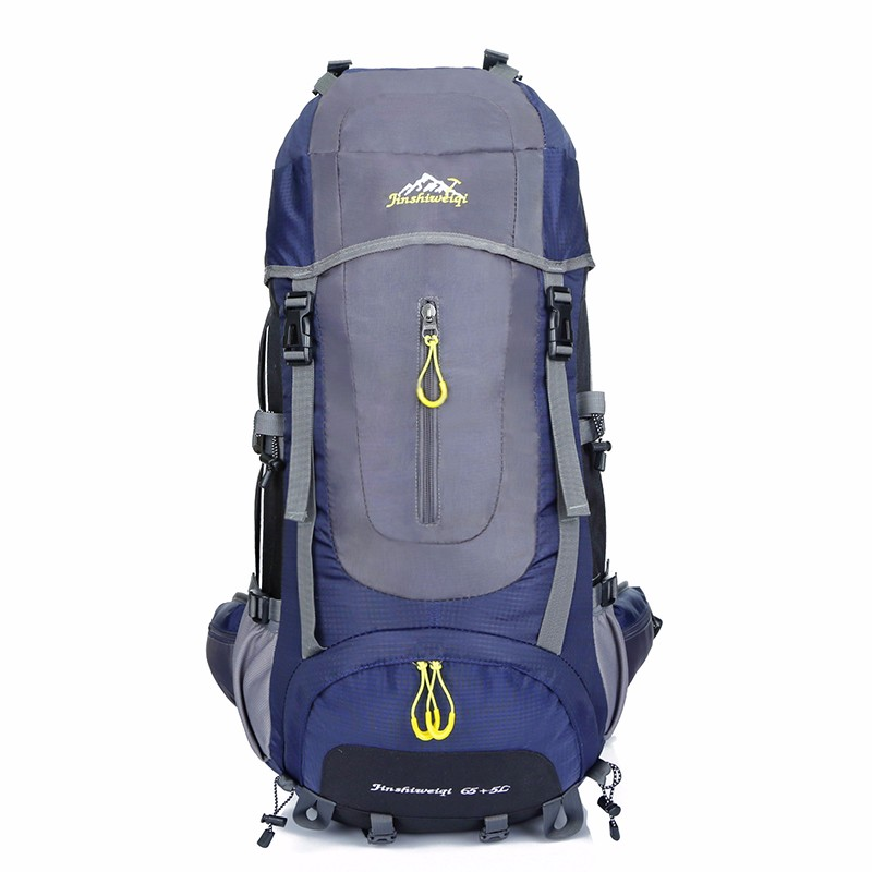 Mountaintop 65+5L Backpack Water-resistant Hiking Backpack